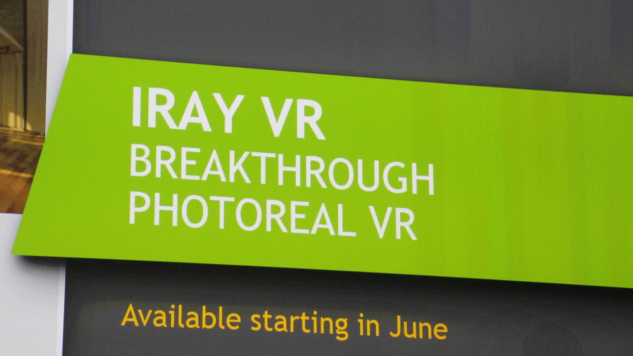Nvidia Iray VR: Interaktiver Fotorealismus für VR-Anwendungen