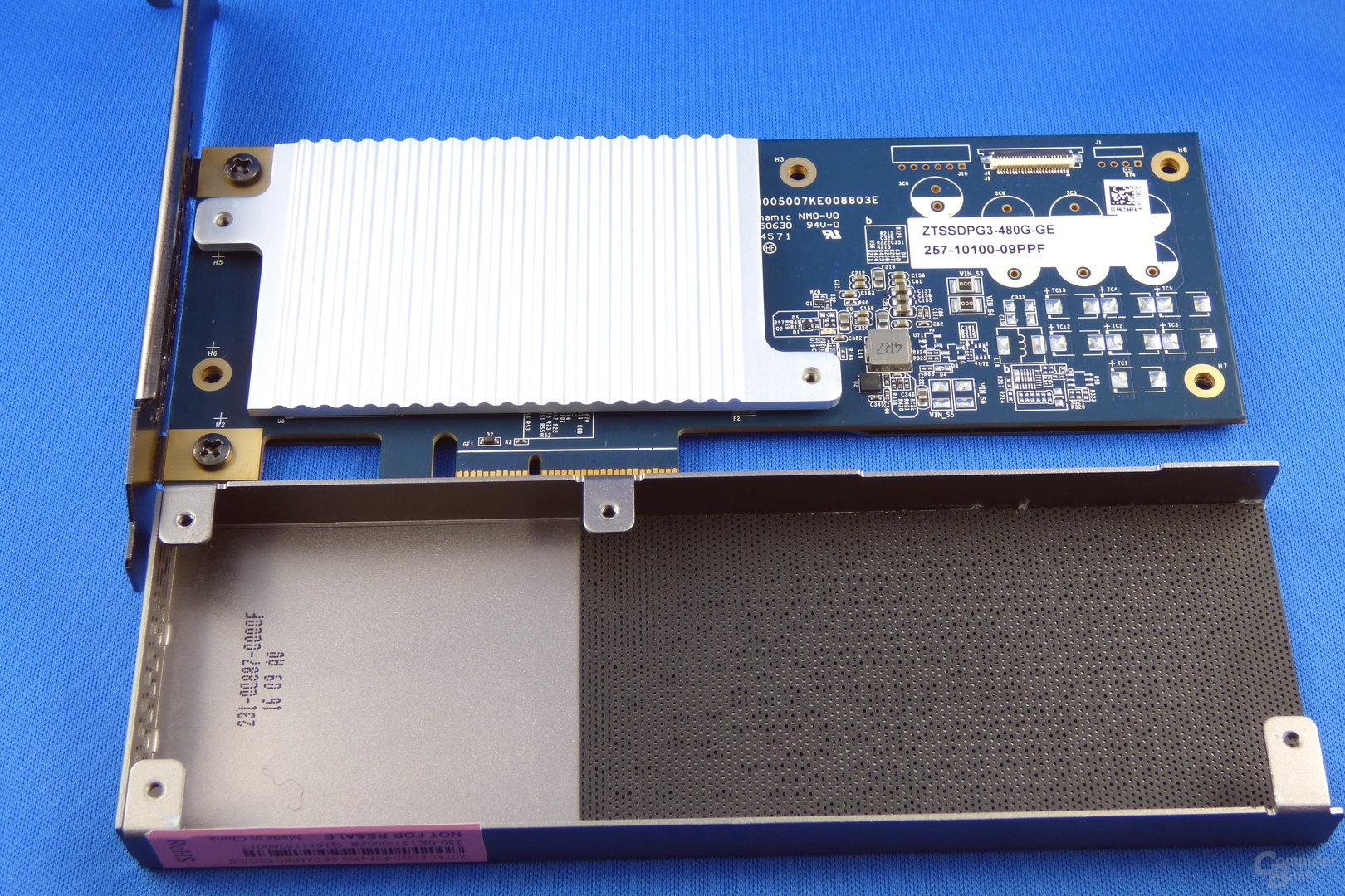 Zotac Sonix PCIe SSD ohne Abdeckung