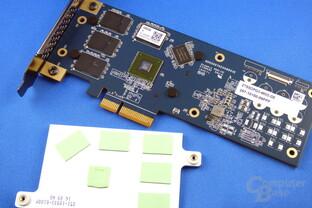 Zotac Sonix PCIe SSD mit Kühlkörper