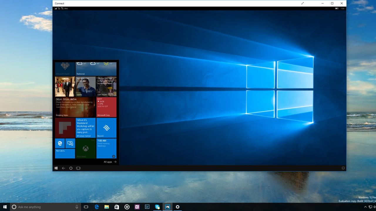 Windows 10 Insider Build 14316: Ubuntu Bash, Cross-Device-Funktionen und mehr