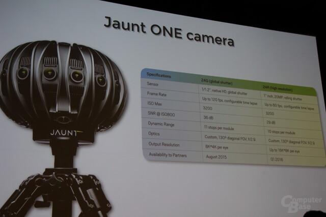 JauntVR zur GTC 2016