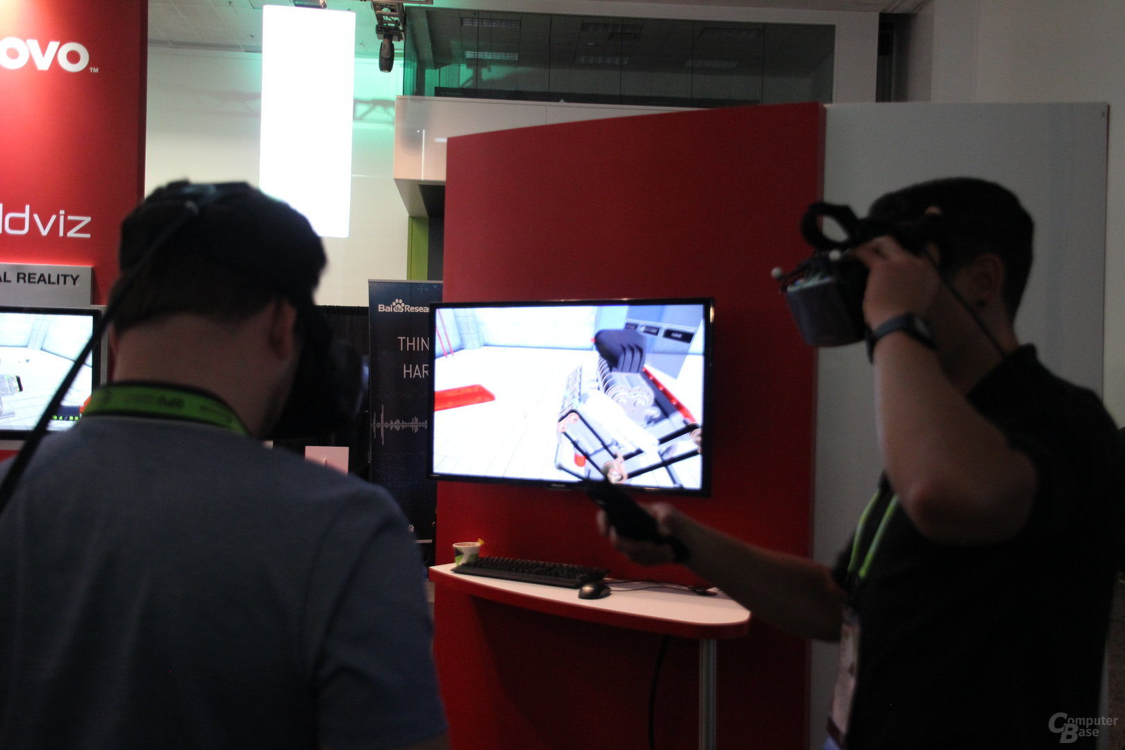 Worldviz zeigt VR-Interaktion zur GTC 2016
