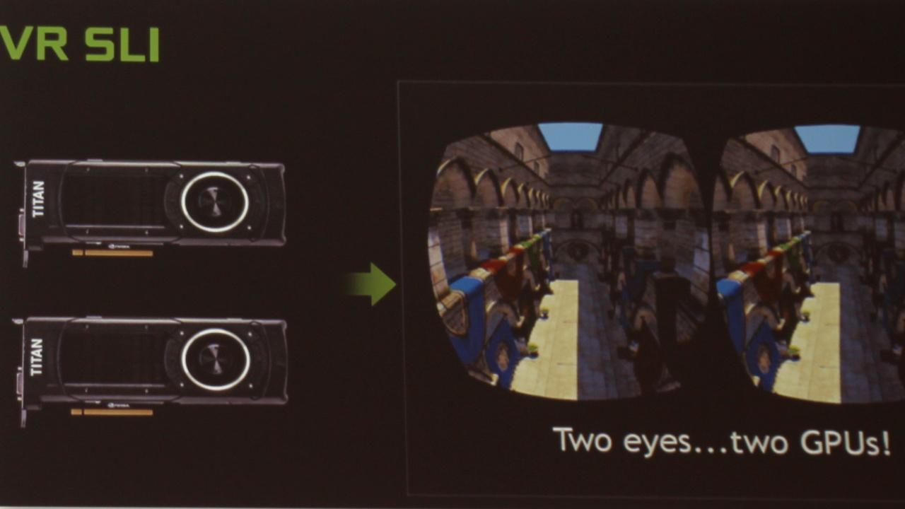 Virtual Reality: SLI in VR nicht nur für die Spieleindustrie