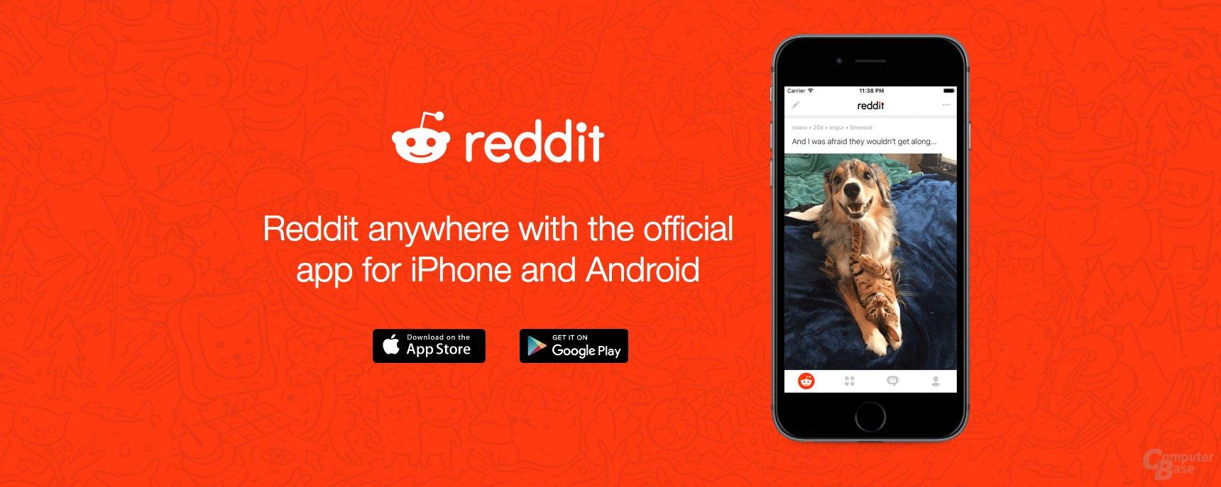 Offizielle Reddit-App nun verfügbar