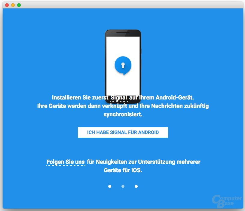 Signal Desktop Beta