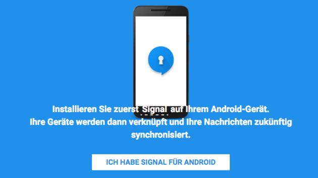 Krypto-Messenger: Signal als Chrome-App für alle Nutzer freigegeben