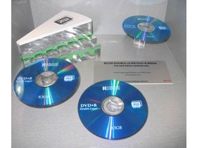 Ricoh DVD DL Rohlinge