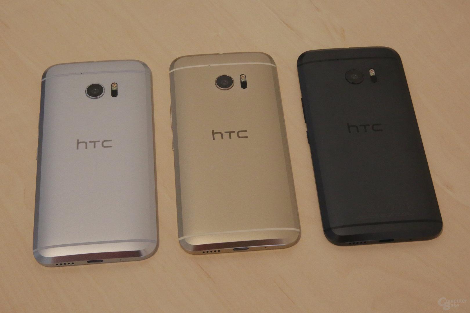 HTC 10 von hinten betrachtet