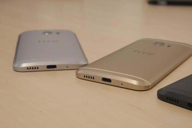 Tieftöner an der Unterseite des HTC 10