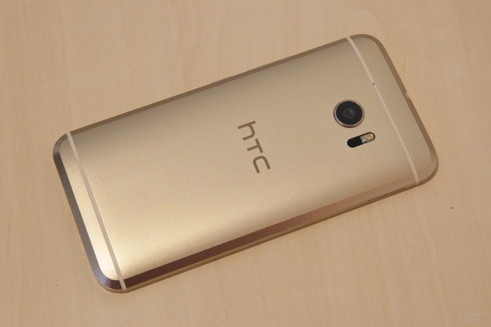 HTC 10: Auch ohne One im Namen klar als solches erkennbar