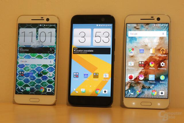 Android 6.0.1 Marshmallow mit Sense 8