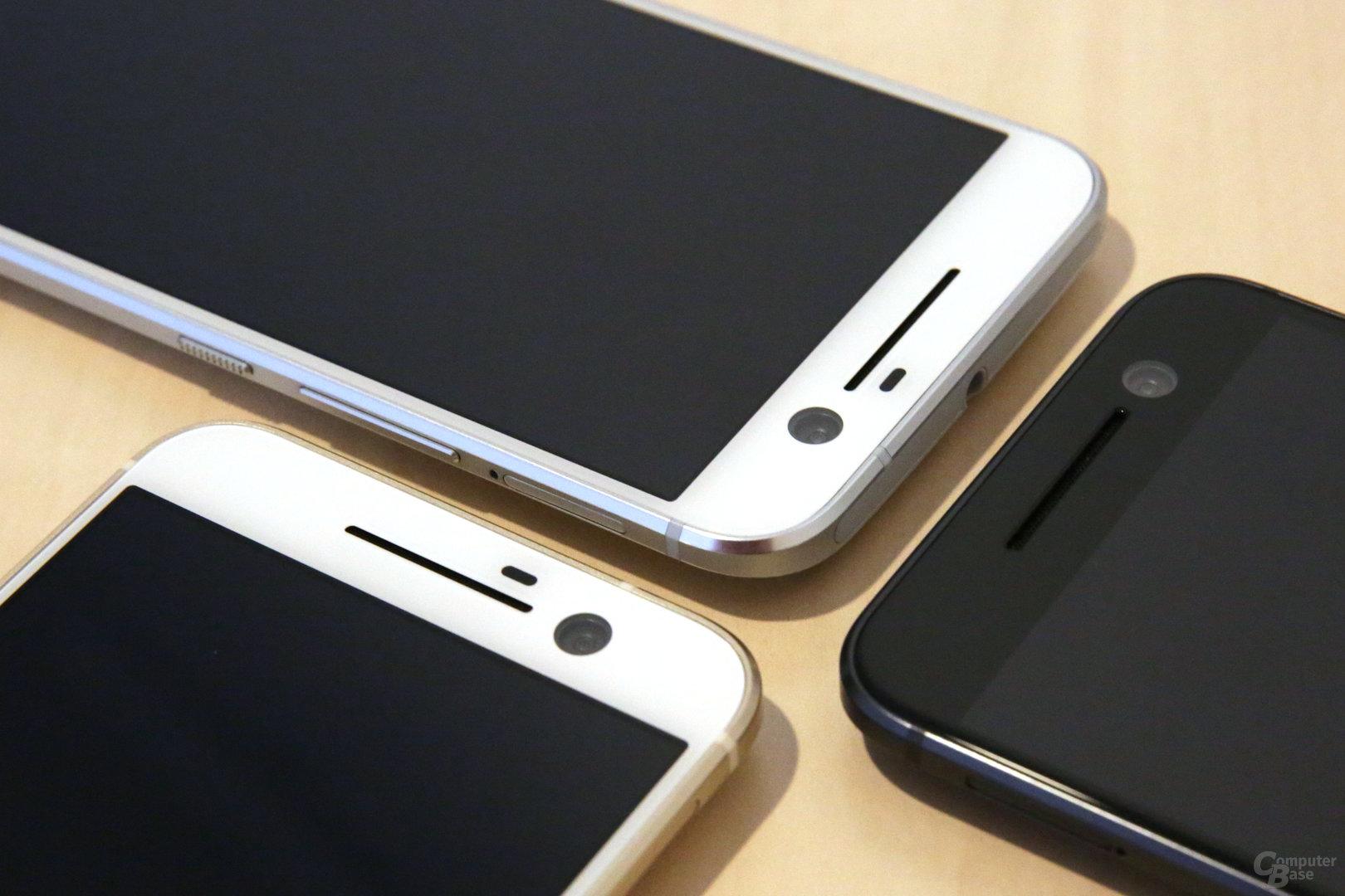 Vorderseiten ohne HTC-Logo