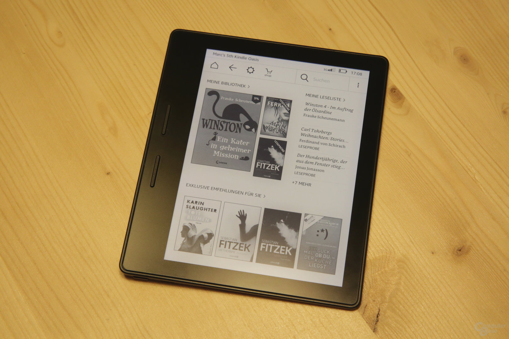 Amazon verspricht das bisher hellste Kindle-Display