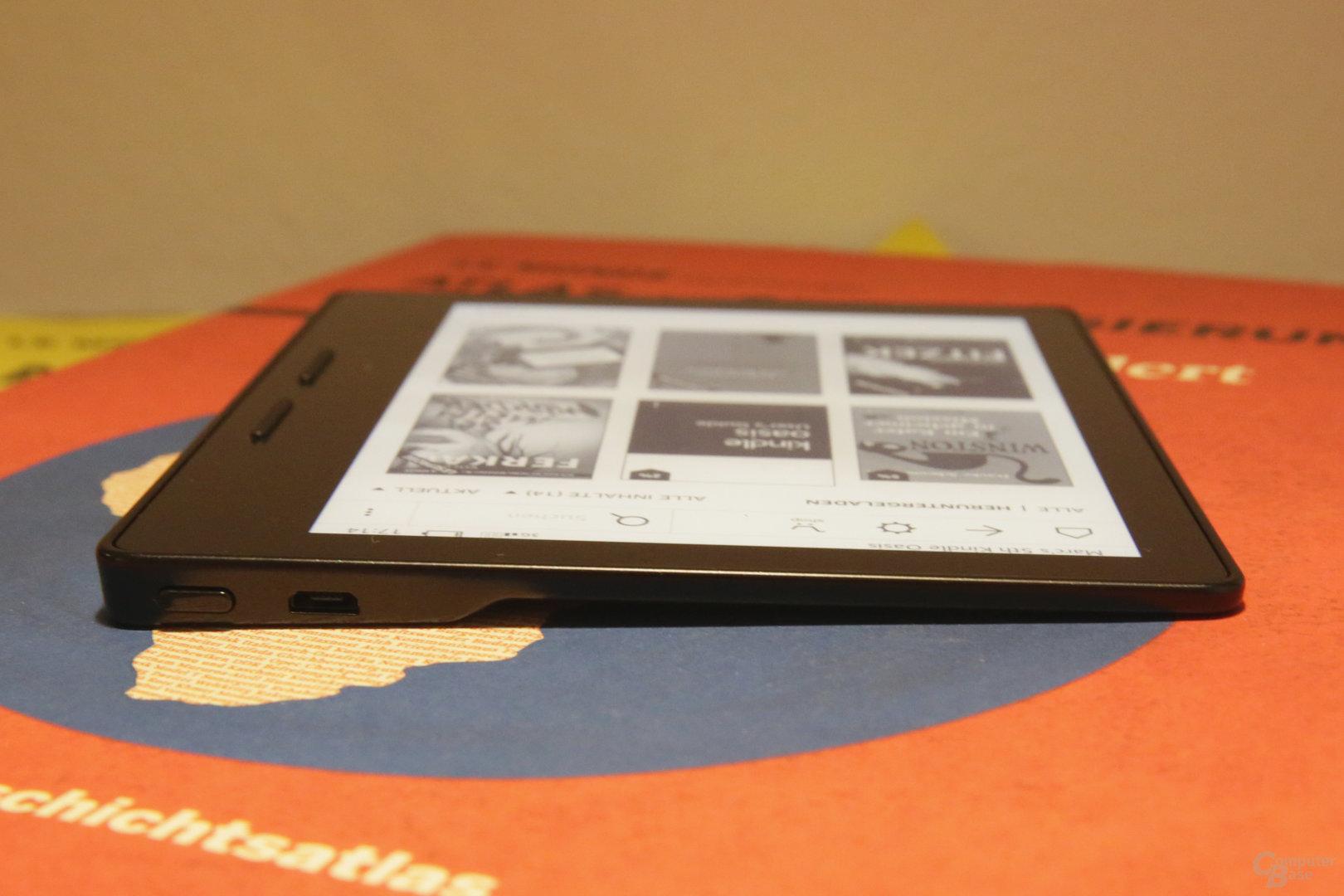 Amazon Kindle Oasis ausprobiert