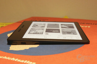 Amazon Kindle Oasis ausprobiert