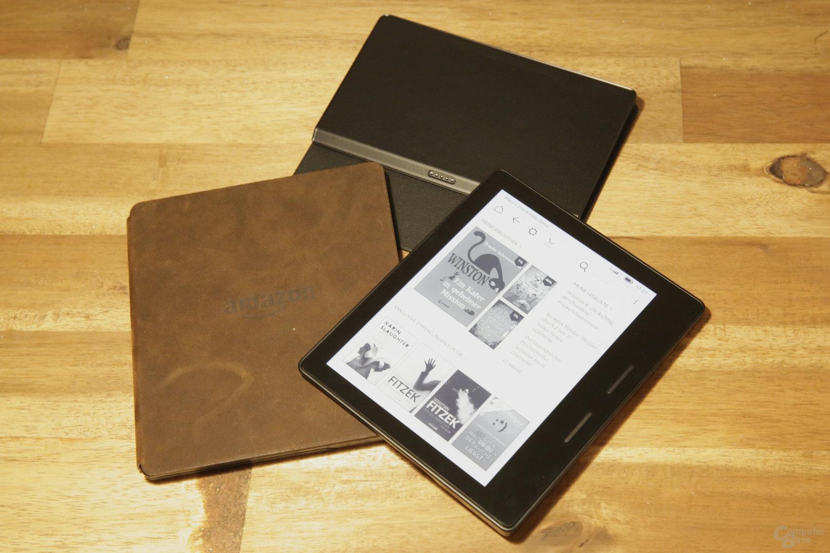 Kindle Oasis – Die bisher radikalste Konzeption des E-Book-Readers