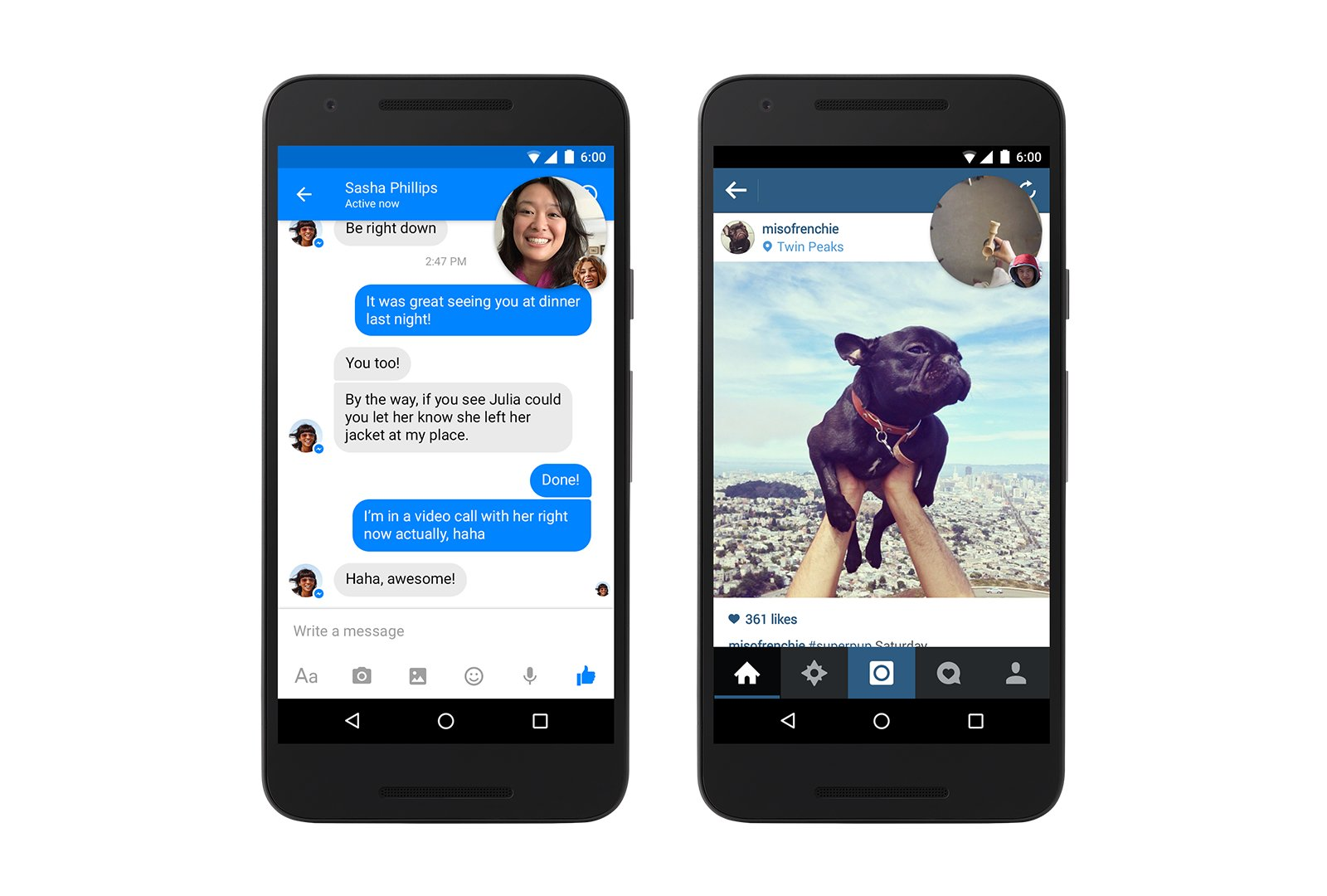 Facebook Video-Chat-Heads