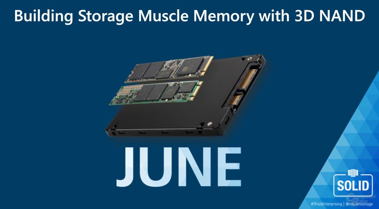 Weitere Micron-SSDs mit 3D-NAND