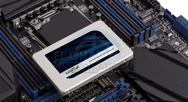Crucial MX300 mit 3D-TLC-NAND