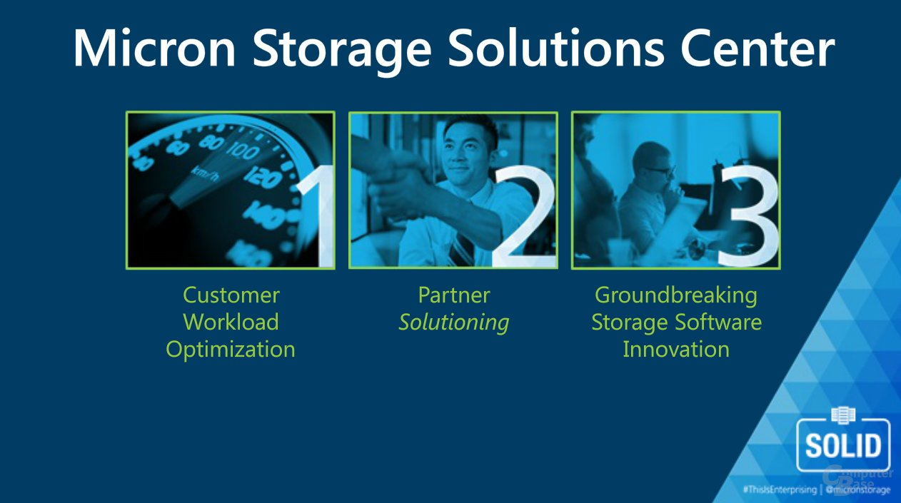 Micron Storage Solutions Center (MSCC)