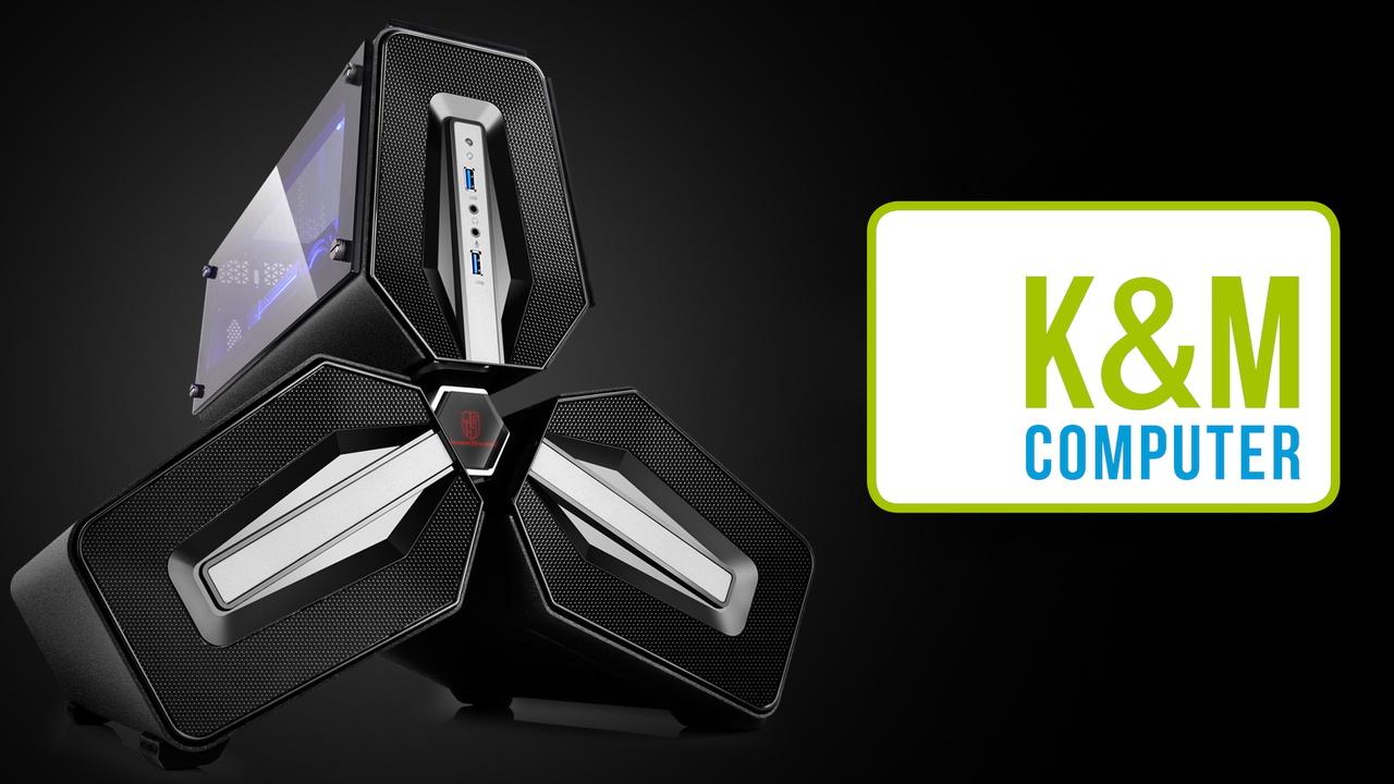 17 Jahre ComputerBase: Gaming-PC mit Hardware von K&M Computer zu gewinnen