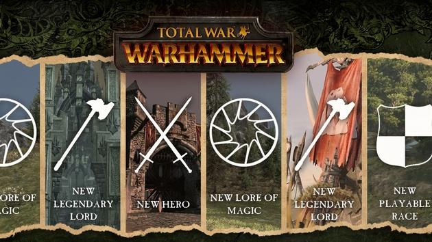 Total War: Warhammer: Kostenlose und kostenpflichtige DLCs geplant