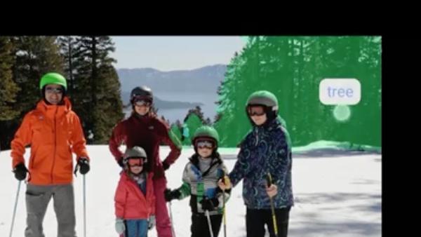 """Facebook F8: """"Finde Fotos mit Skiern und einem See im Hintergrund"""""""
