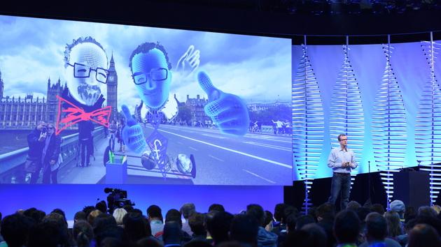 Facebook Social VR: Soziale Präsenz in VR braucht die Hände