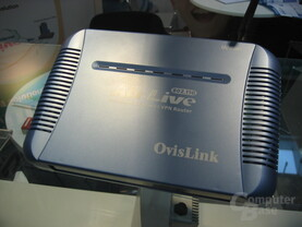 OvisLink Multimedia Server und VPN Router