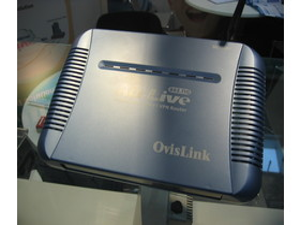 OvisLink Multimedia Server und VPN Router