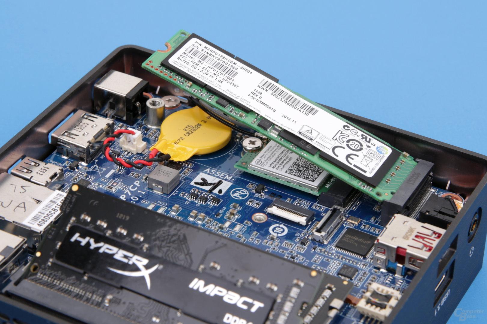 Gigabyte Brix GB-BSi5A-6200 mit DDR4 und M.2-SSD