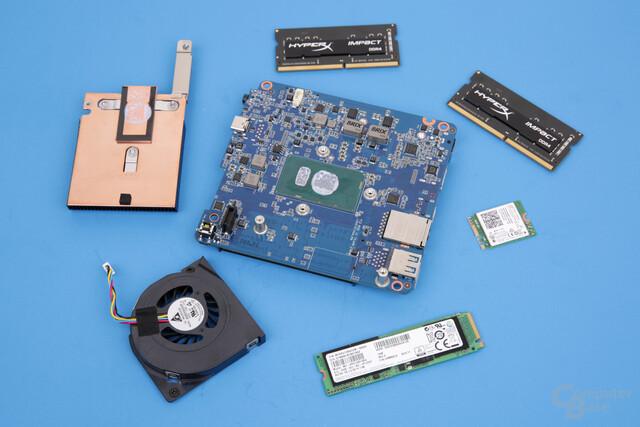 Gigabyte Brix GB-BSi5A-6200 zerlegt