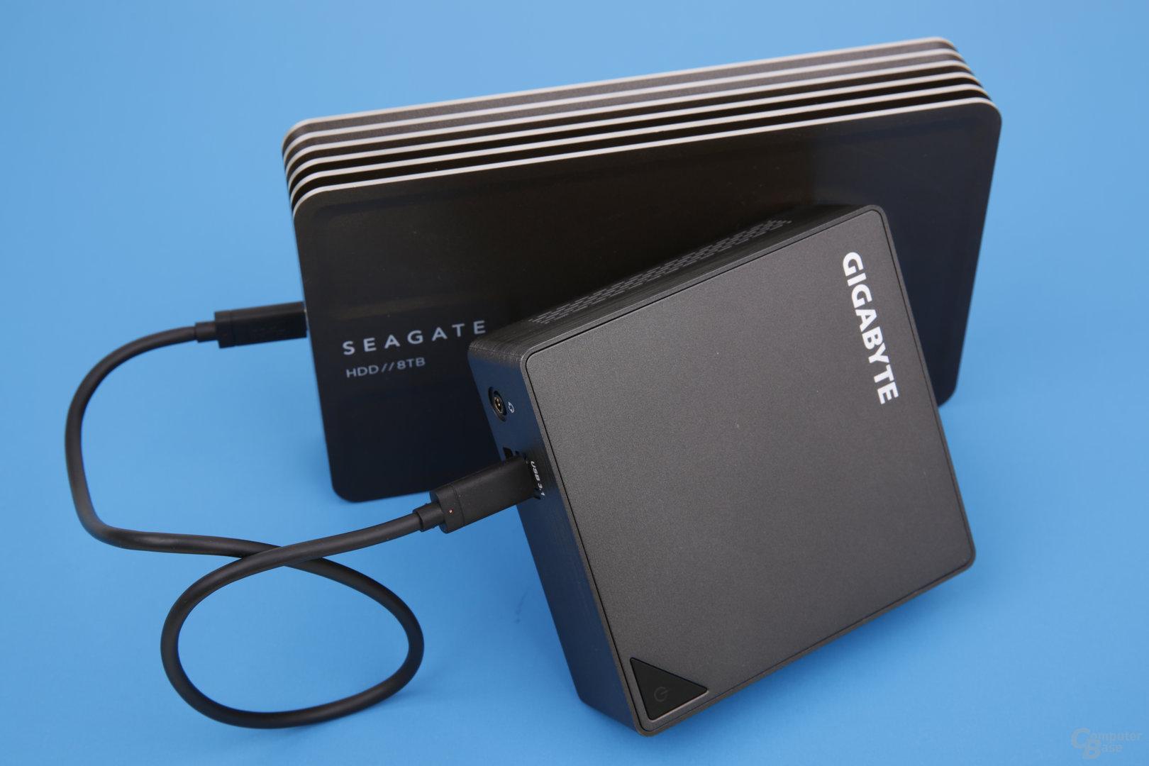 Gigabyte Brix GB-BSi5A-6200 mit USB 3.1