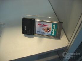 Wireless PCMCIA 54MBits