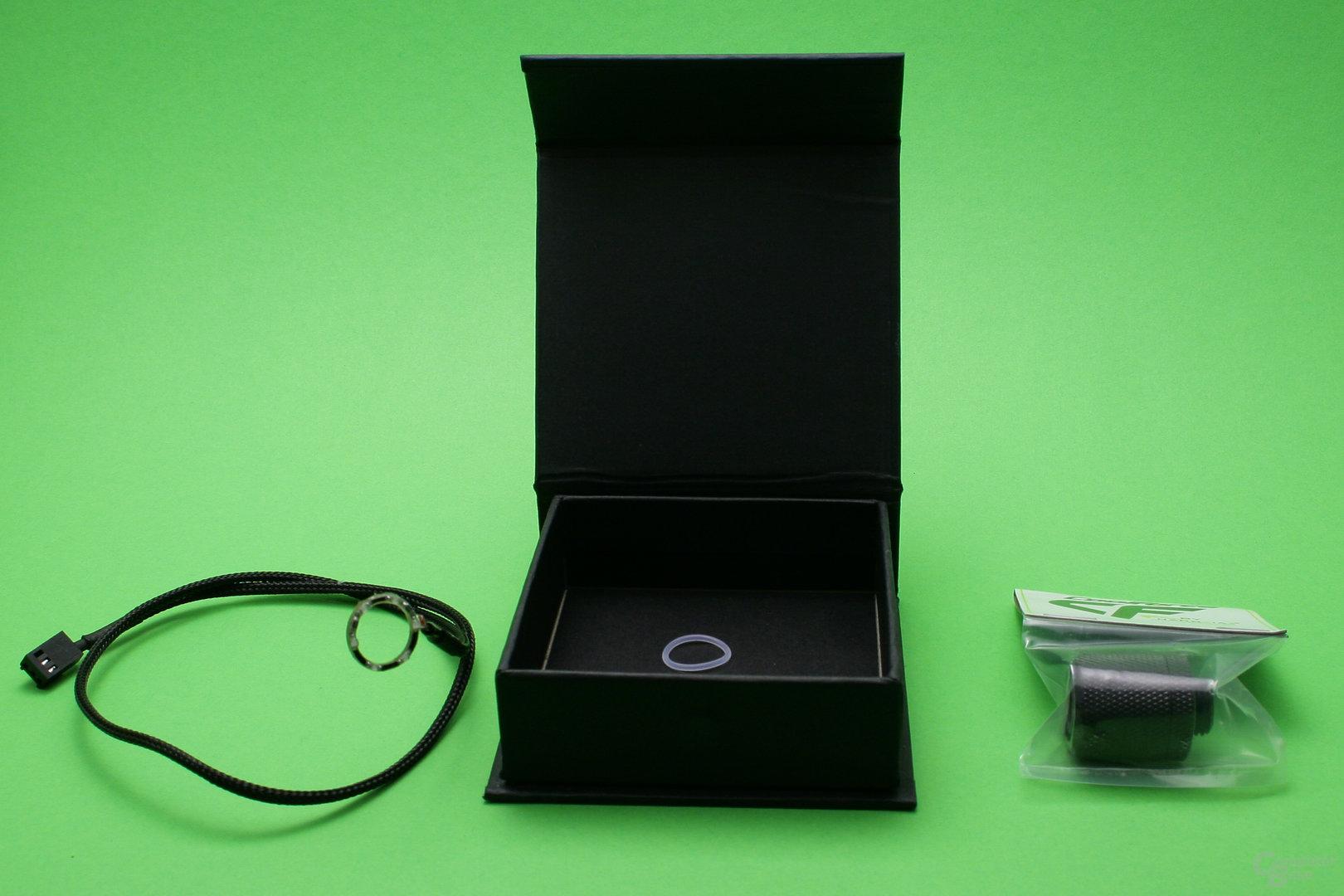 CoolForce LED-Fittings: Verpackungsinhalt