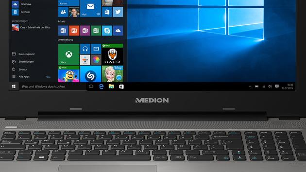 Iris Graphics 550: Medion-Notebook mit flotter Intel-GPU für 599Euro