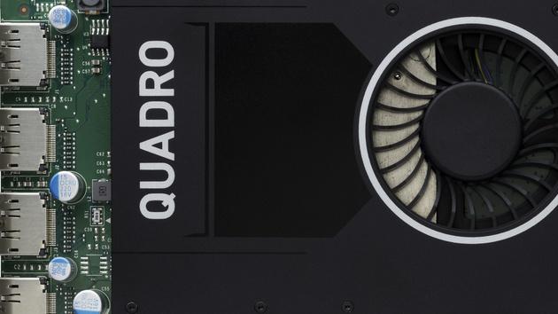 Nvidia Quadro M2000: GTX 950 für den Profi-Bereich mit 4 GByte GDDR5