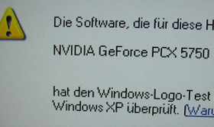 ForceWare 60.30: non-WHQL