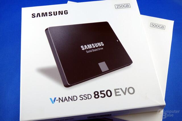 Samsung 850 Evo V2 mit 256-Gbit-3D-NAND