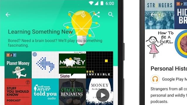 Google: Play Music Podcasts startet in den USA und Kanada