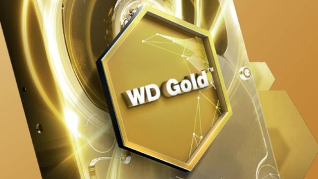 WD Gold: Server-Festplatten bis zu 8 TB für den 24/7-Dauerbetrieb