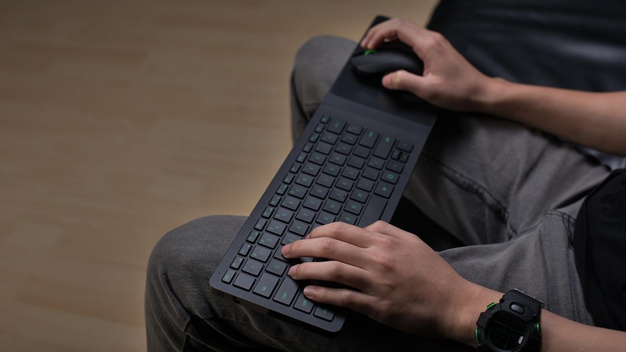 Razer Turret: Maus und Tastatur für Spieler und den HTPC
