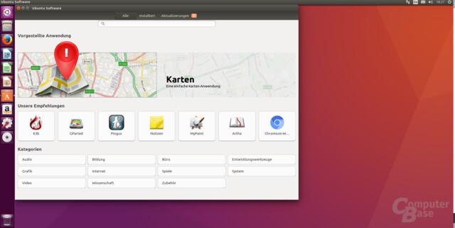 Ubuntu Software von Gnome übernommen