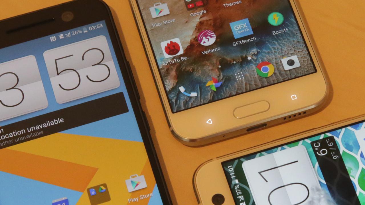 Neu in der Redaktion: Das HTC 10 ist zum Testen eingetroffen