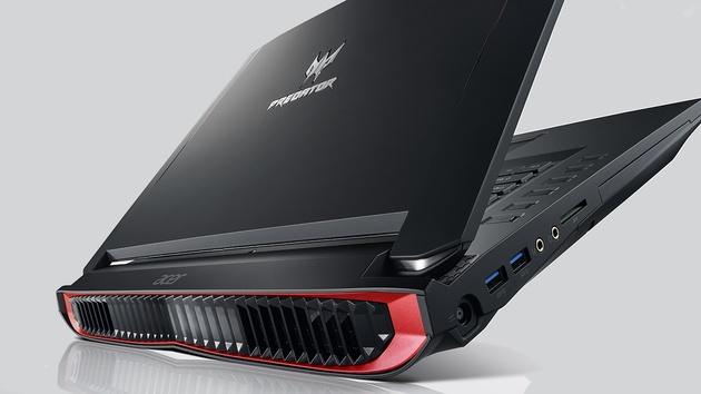 Acer Predator G1 und 17 X: Kompakter Desktop-PC und Notebook für VR(to go)