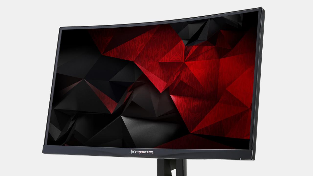 Acer Predator Z1: Neue Monitorserie mit G-Sync, Curved und 200Hz