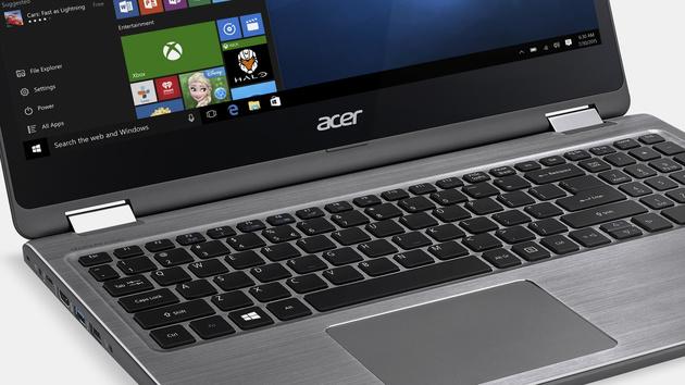 Acer Aspire R 15: 360-Grad-Convertible mit bis zu 9Stunden Laufzeit