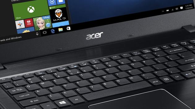 Acer-Notebooks: Aspire E, F und ES mit mehr Leistung und neuem Design