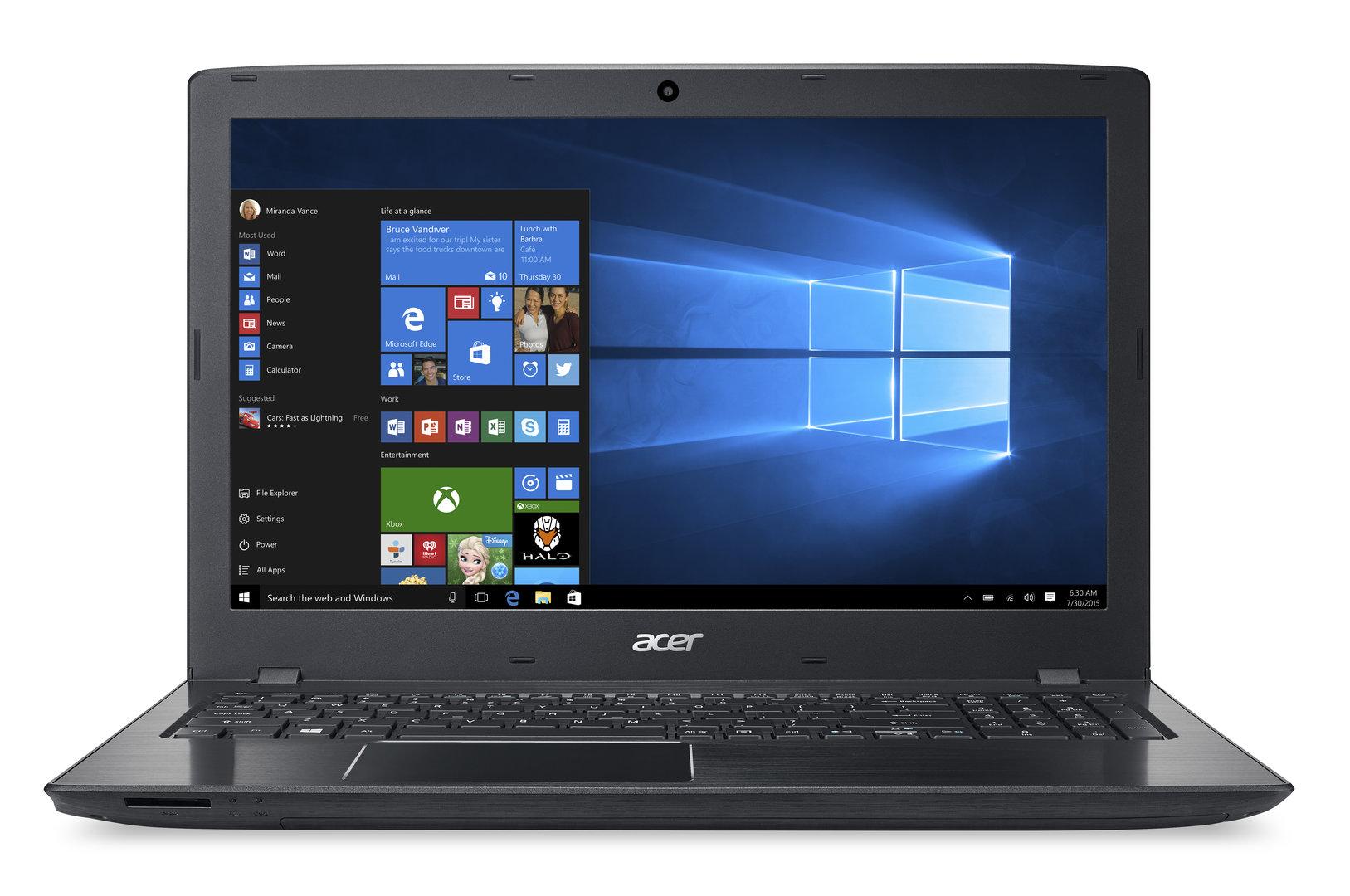 Acer Aspire E 17 Obsidian Black