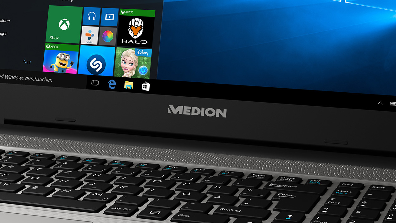 Medion Akoya E6424: Skylake-Notebook samt Iris-Grafik auch bei Aldi Süd